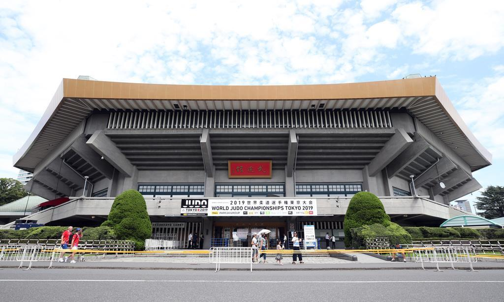 日本武道館(川口良介撮影)