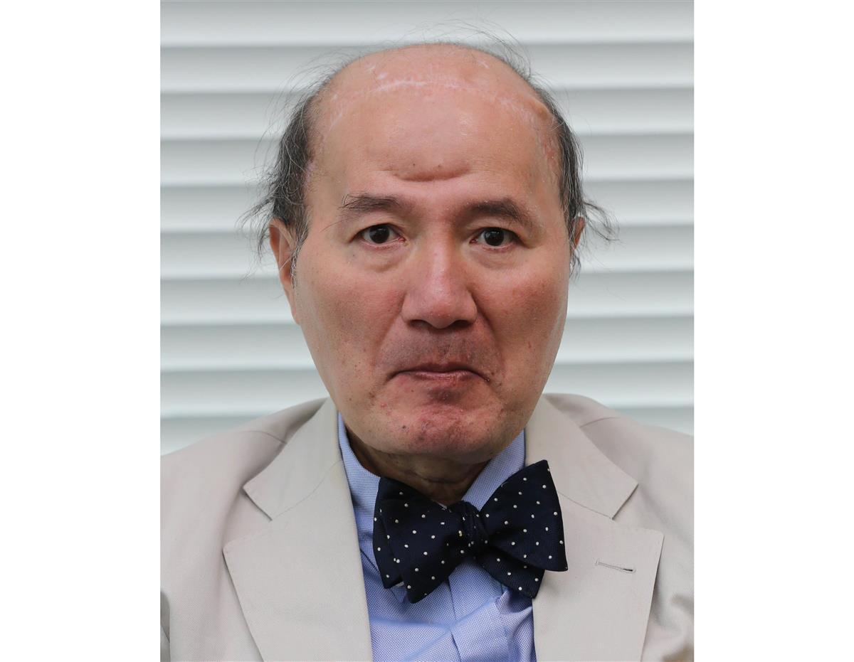 コラムニストの神足裕司さん(長尾みなみ撮影)