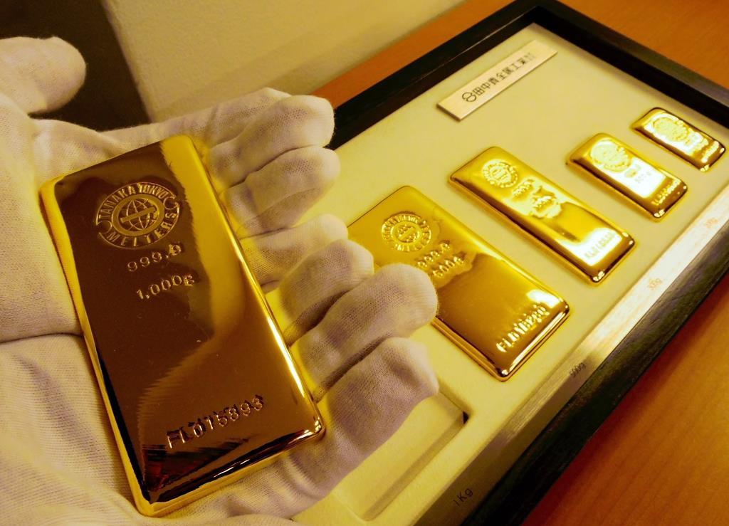 有事の「安全資産」とされる金