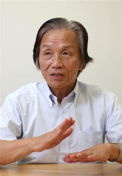 「ネオジム磁石」を開発した大同特殊鋼顧問、佐川真人氏=京都市西京区