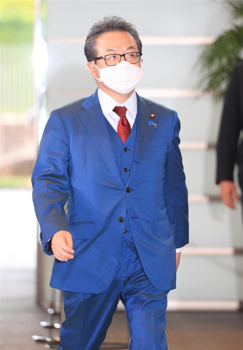 自民党の世耕弘成参院幹事長=9月16日、首相官邸(佐藤徳昭撮影)