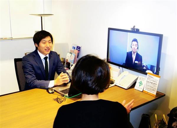 東京スター銀行が開いたコンサルティング業務に特化した超小型店舗=18日、東京都渋谷区(米沢文撮影)