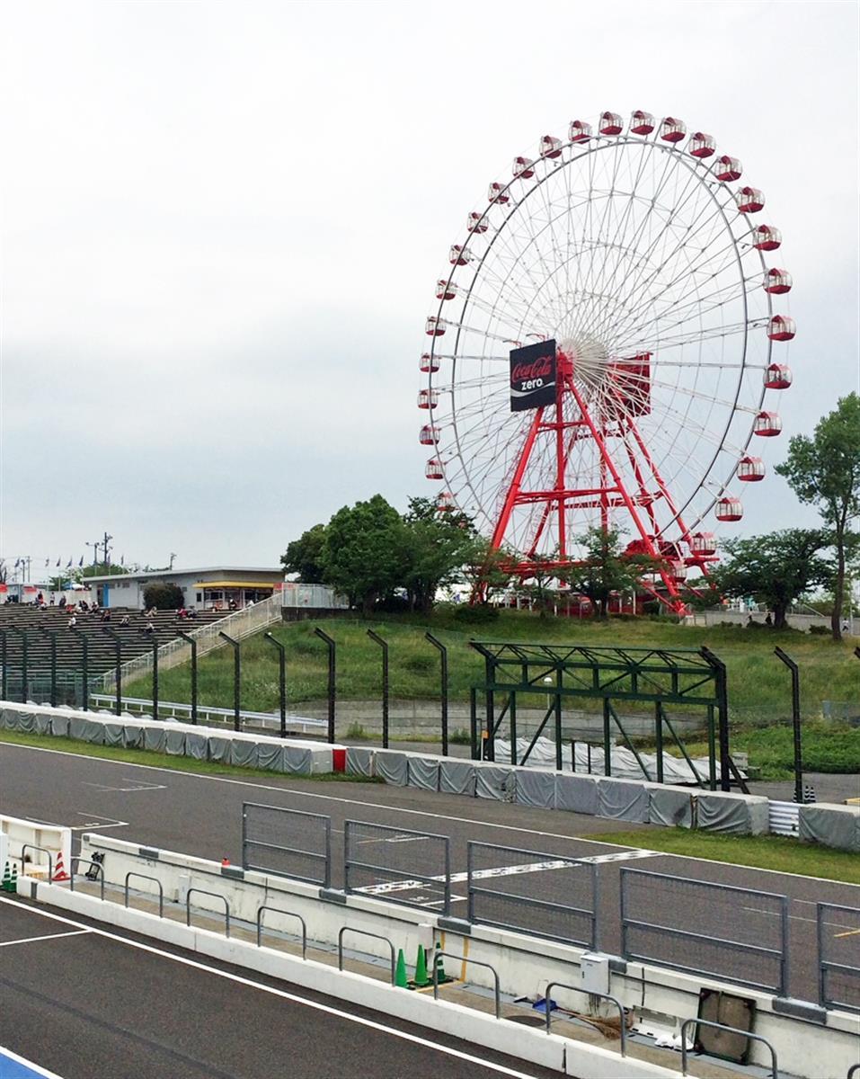 F1日本グランプリの舞台、三重県の鈴鹿サーキット