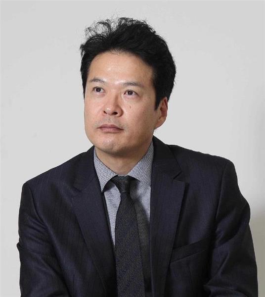 俳優の田中哲司さん(野村成次撮影)