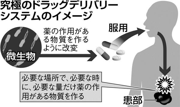 究極のドラッグデリバリーシステムのイメージ