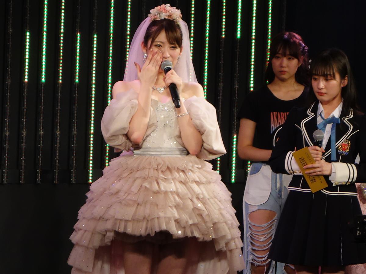 卒業公演を行った吉田朱里