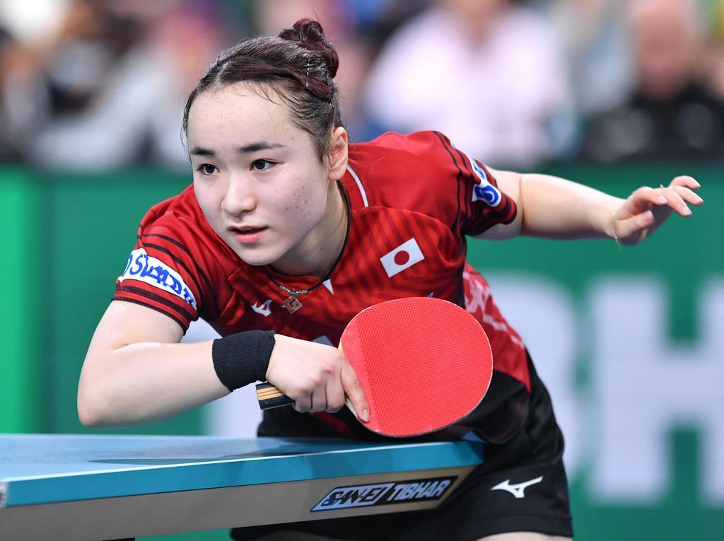 卓球の伊藤美誠、今年の漢字は「自分」 Gファイナルから帰国 - 産経ニュース