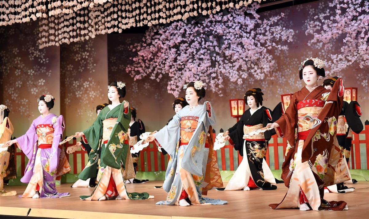 昨年の京都・北野をどり前夜祭
