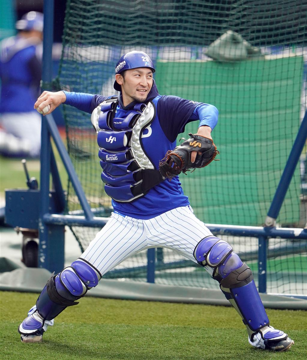 DeNA・伊藤光が正捕手獲りへ意欲 「勝てる捕手が一番。それが信頼につながる」 - サンスポ