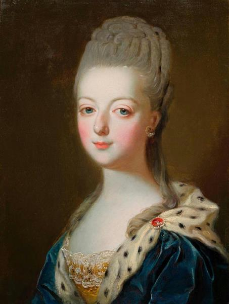 作者不詳(フランス派)「マリー・アントワネットの肖像」18世紀 ボルドー美術館蔵(c)Musee des Beaux-Arts, Mairie de Bordeaux. Photo F. Deval