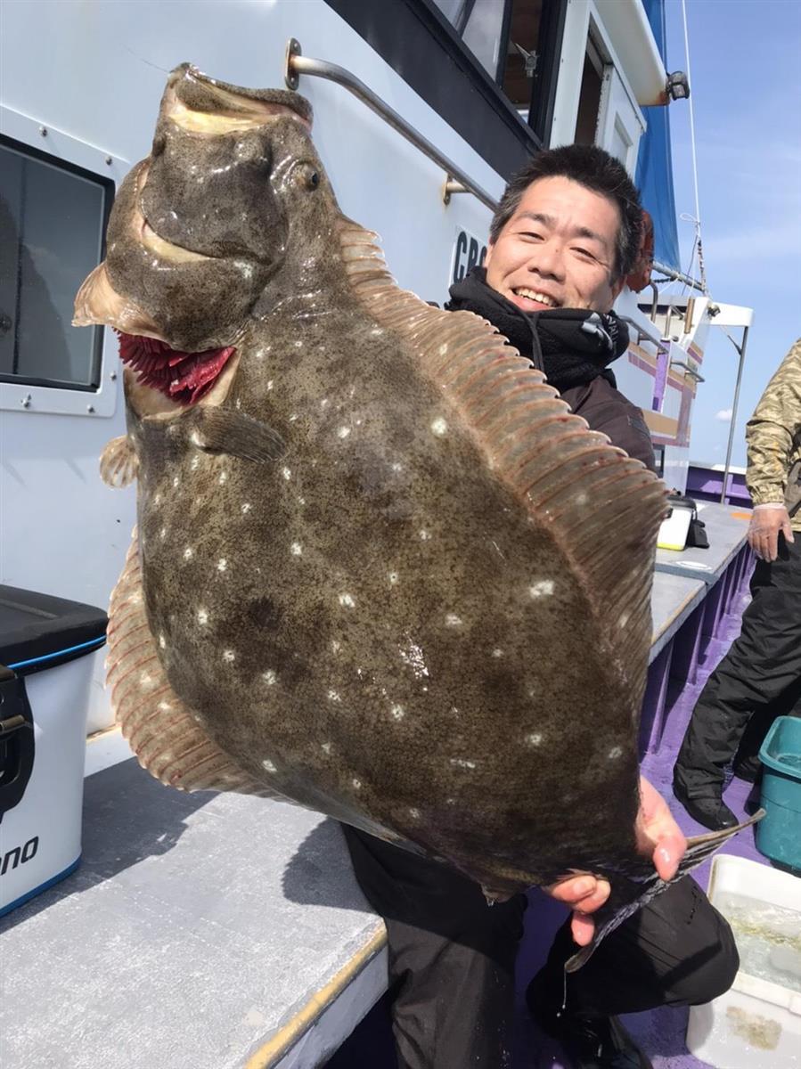 7・12キロのヒラメ