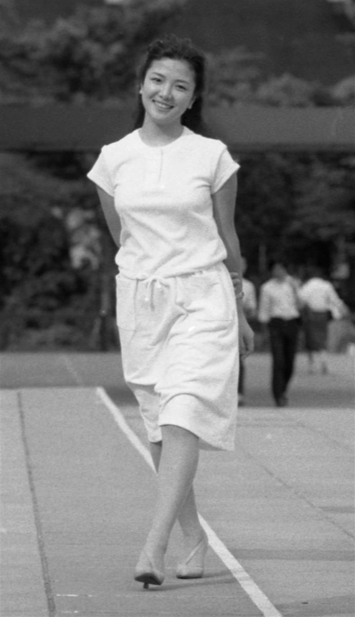 原日出子(1981年6月17日撮影)