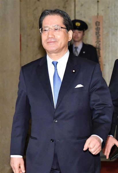 民進党の増子輝彦幹事長(斎藤良雄撮影)