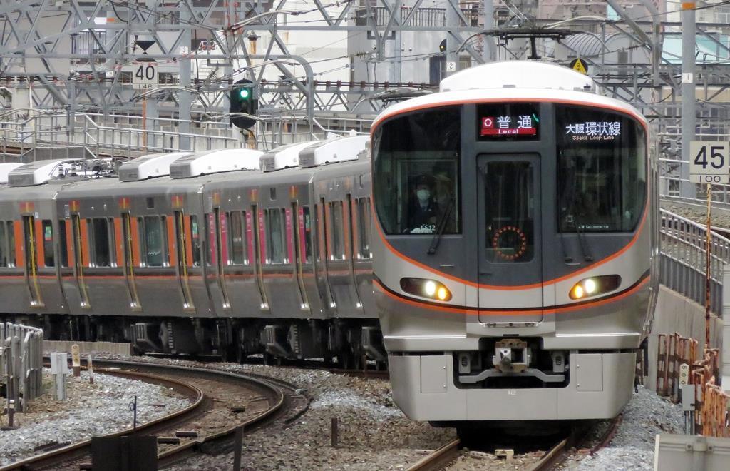 自動運転の走行試験が行われているJR大阪環状線
