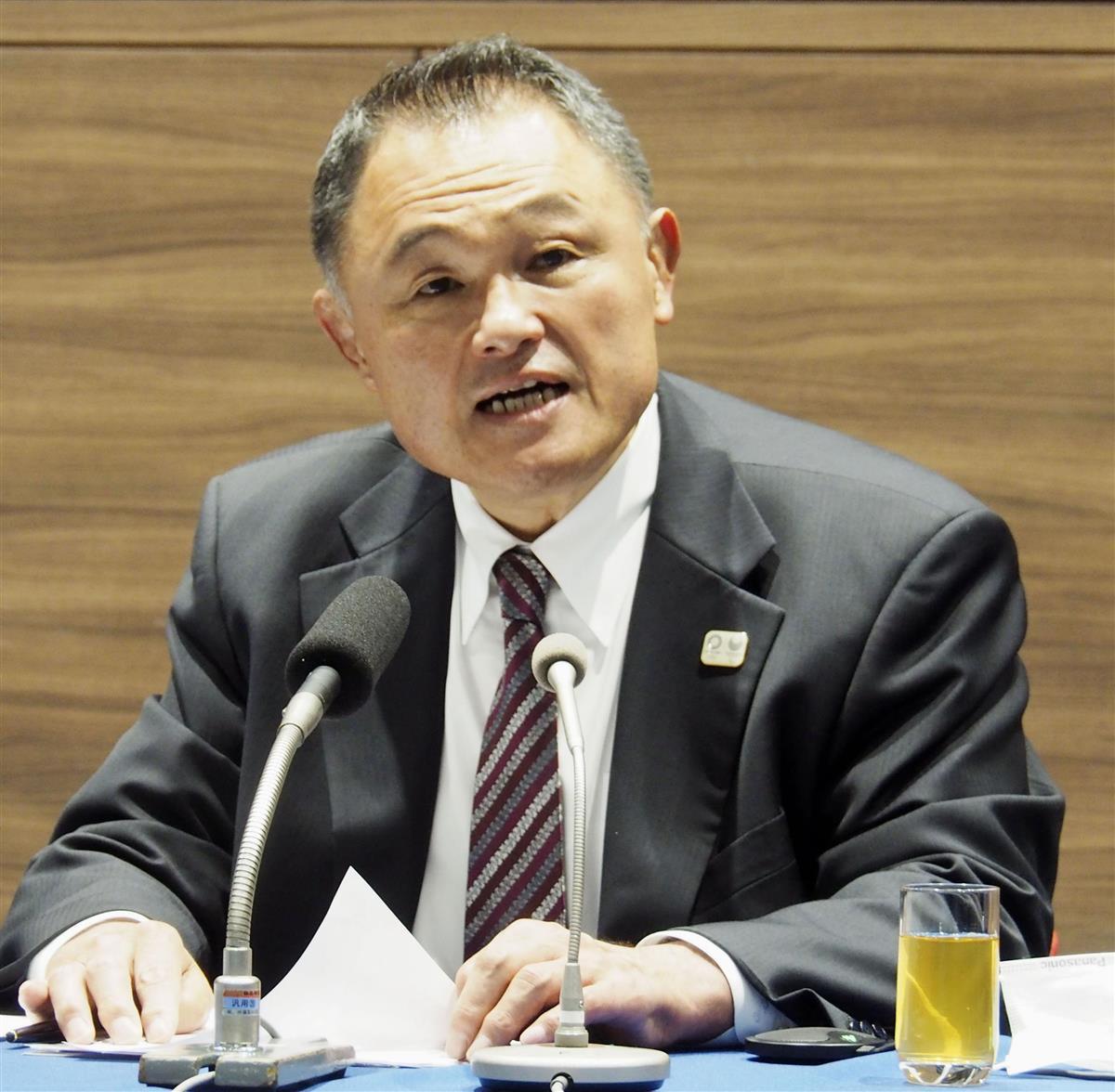 泰裕 山下 山下泰裕连任日本奥委会主席