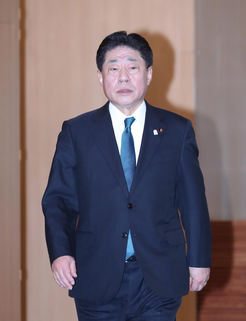 公明党の北側一雄副代表(春名中撮影)