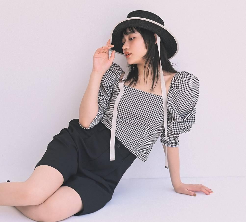 ファッション誌「CanCam」の専属モデルに決まった佐々木莉佳子