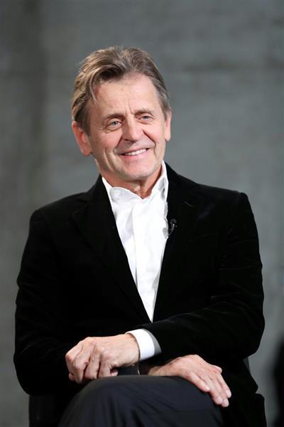 ミハイル・バリシニコフさん(桐山弘太撮影)