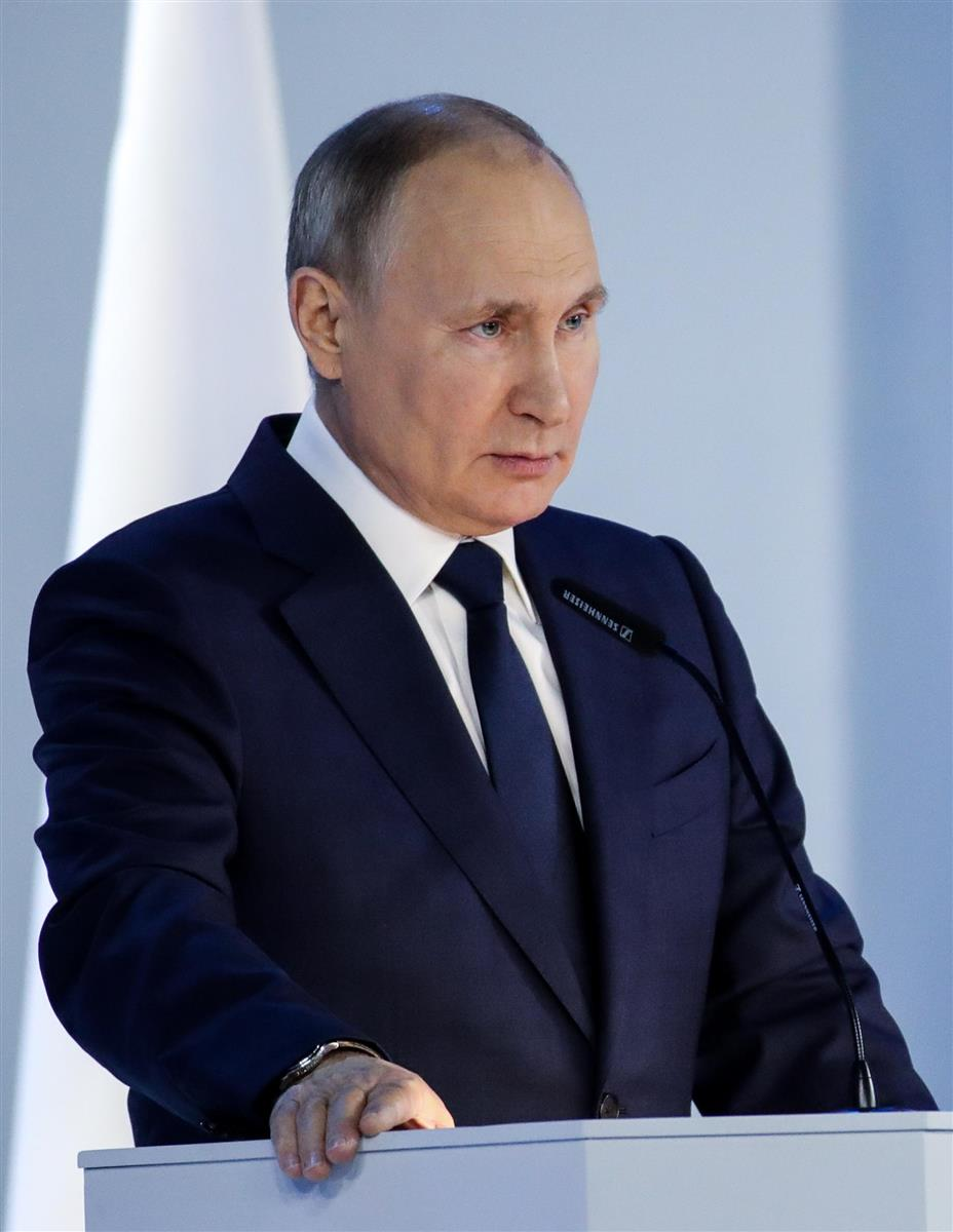 ロシアのプーチン大統領(タス=共同)