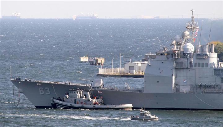 軍事衝突となれば米軍のイージス艦が波状攻撃をかける
